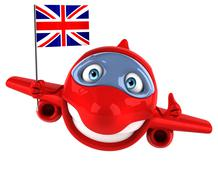 Stock Illustration of fun plane