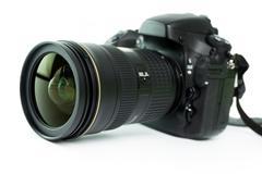 dslr camera - stock photo