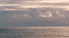 Sunrise Sea And Clouds - stock footage