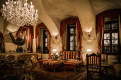Interior of a luxury apartment Stock Photos