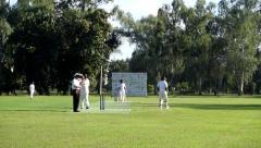 Cricket Six Stock Footage