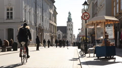 Cracow  Old Town Sunny Kraków Stock Footage