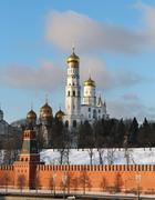 Ivan the great  in the moscow kremlin Stock Photos