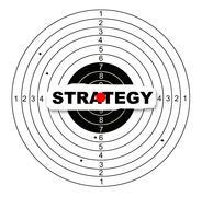 Hitting the target Stock Illustration