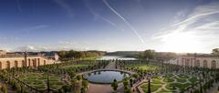 versailles gardens - stock photo