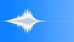 Metallic Ghost Swish (Creepy, Motion, Flyby) - sound effect
