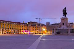 Stock Photo of Commerce square  in Lisbon, Portugal