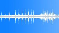 Concrete layer making - sound effect