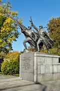 Sculptural composition Victory. Kaliningrad (Koenigsberg before 1946), Russia - stock photo