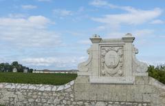 chateau latour saint-julien - stock photo