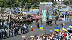 Ukrainian troops Stock Footage