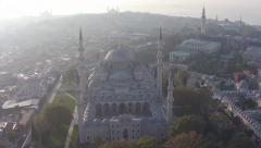 Grand Mosque Süleymaniye, Istanbul Stock Footage