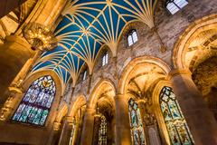 archway in the cathedral, edinburgh - stock photo