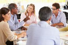 Team meeting in creative office Kuvituskuvat