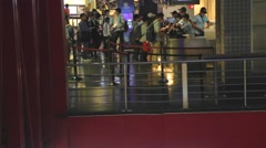 Xinyi - people at movie theater - stock footage
