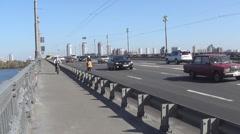 Kiev, highway - stock footage