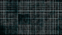Abstract geometric background animation - stock footage
