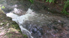 Germany - Close up of a River Stock Footage