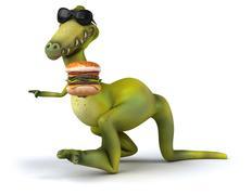 Stock Illustration of dinosaur