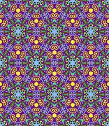 Seamless geometry vintage pattern, ethnic style ornament Stock Illustration