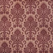 Brown damask floral pattern Stock Photos