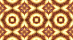 Loopable and tileable kaleidoscopic flame fractals Stock Footage