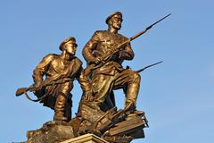 Monument to the Heroes of first world war. Kaliningrad, Russia Stock Photos