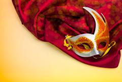 masks for a masquerade - stock photo