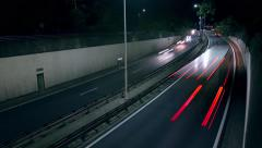 Timelapse Highway Europe A12 Stock Footage