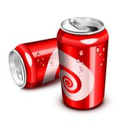 Cola can Stock Illustration