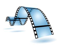 film strip - stock illustration
