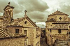 Old town of cuenca, spain Stock Photos