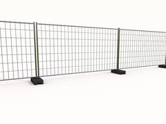 wire mesh fence - stock illustration