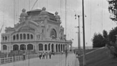 Constanta 1960s: the Casino Stock Footage