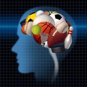 Sport psychology Stock Illustration