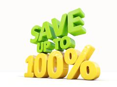 Save up to 100% Stock Illustration