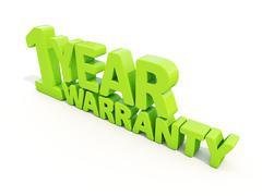 Stock Illustration of warranty