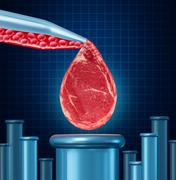 lab grown meat - stock illustration