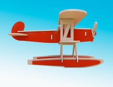 Stock Illustration of toy plane
