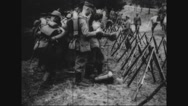 Military soldiers preparing for war Stock Footage