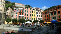 Vernazza, Liguria, Italy Stock Footage