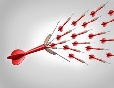 increasing opportunities - stock illustration