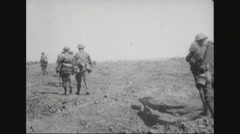 Military soldiers carrying their ammunitions to another place - free stock footage