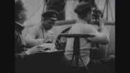 Navy officers discussing Stock Footage