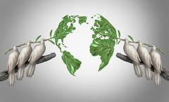 Global relations Stock Illustration