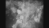 View of Verdun city bombed Stock Footage