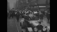 Labor Day parade in Buffalo, New York Stock Footage