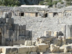 Roman amphitheater. Related clips are in my portfolio in 1920x1080. Stock Footage