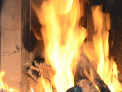Fire flame. Related clips are in my portfolio in 1920x1080. Stock Footage