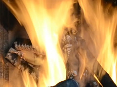 Tongues of flame. Related clips are in my portfolio in 1920x1080. Stock Footage